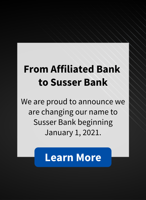 From Affiliated Bank to Susser Bank